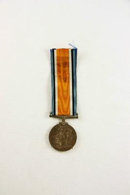 British War Medal; McMillan, William (b.1887, d.1977); 05/0122