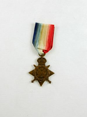 1914 Star Medal; Blakemore, William Henry James (b.1871, d.1945); 05/0125
