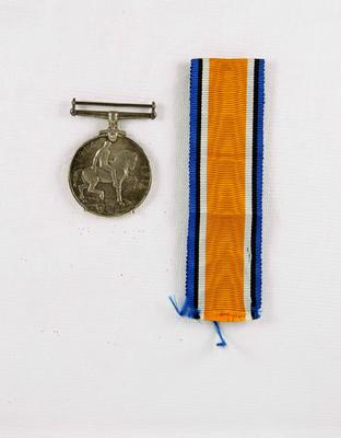 British War Medal; McMillan, William (b.1887, d.1977); 85/0128