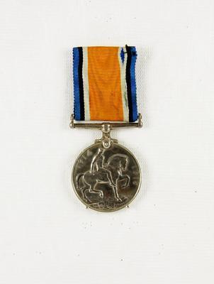 British War Medal; McMillan, William (b.1887, d.1977); 85/0249
