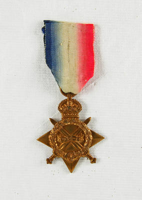 1914-15 Star Medal; Blakemore, William Henry James (b.1871, d.1945); 85/0274
