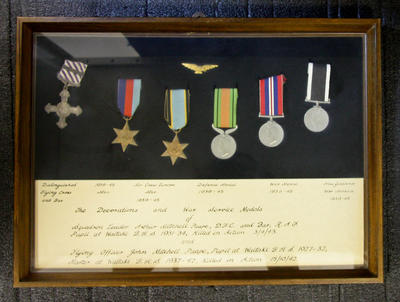 Paape, John Mitchell (Squadron Leader) & Paape, Arthur Mitchell War Service Medals
