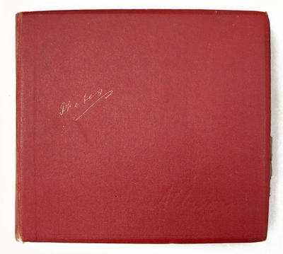 Leslie, Alfred (Bob). Photograph album