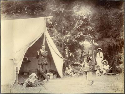 Camping at Glenfern