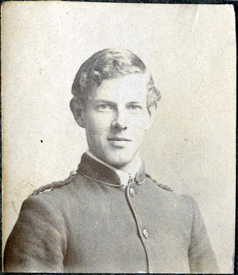 Portrait of a young man, unidentified