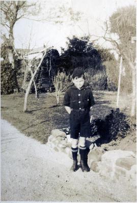 Boy in a garden; 2014/43.1.100