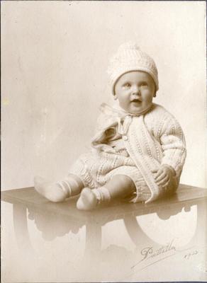 Portrait of a baby; Patillo, Cecil Wright; 2014/43.1.127