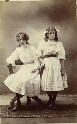 Portrait of young women, unidentified