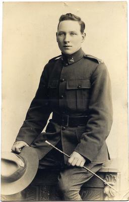 New Zealand soldier, World War One; 2014/43.1.153