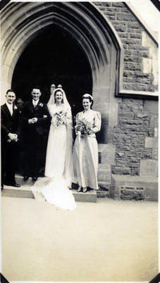 Wedding at Holy Trinity Church, Christchurch