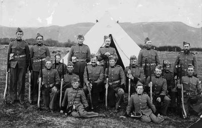 Number 3 Section Duntroon Rifles