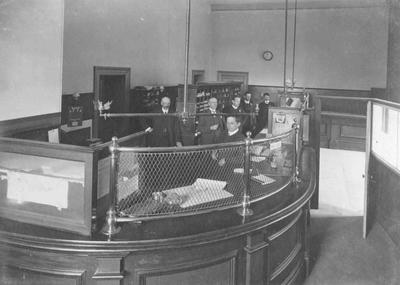Counter at Post Office Savings Bank; P0027.51.7