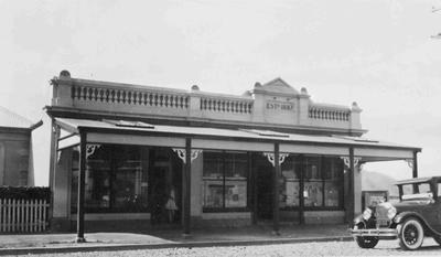 Barclay's Store (formerly) Kurow