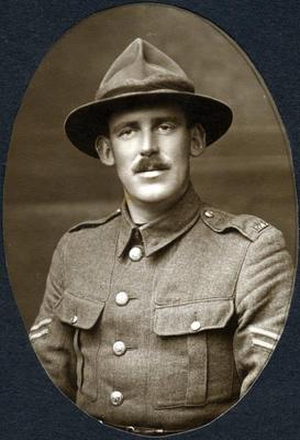 Portrait of a soldier, unidentified; 2014/43.2.30