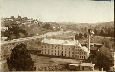 View west of Oamaru, from the clock tower