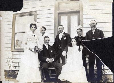 Wedding photo, unidentified