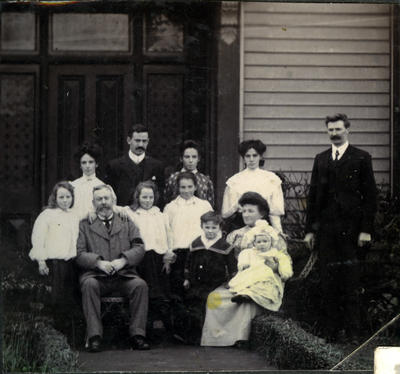 Family photograph, unidentified