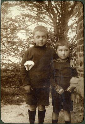Two boys, unidentified; 2014/43.2.94