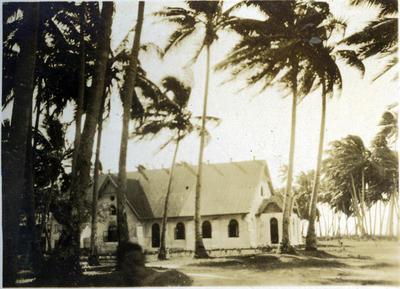Church [?] in Fiji.; Macfie, Robert; 2014/43.2.105