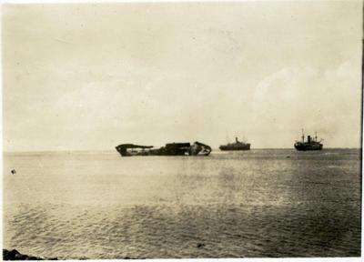 Ships at sea, Fiji; Macfie, Robert; 2014/43.2.109