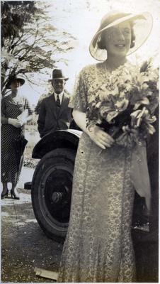 Wedding photo, unidentified; 2014/43.2.117
