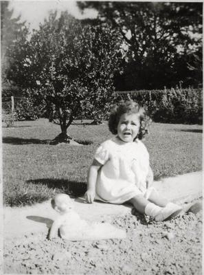 Little girl in a garden; 2014/43.2.140