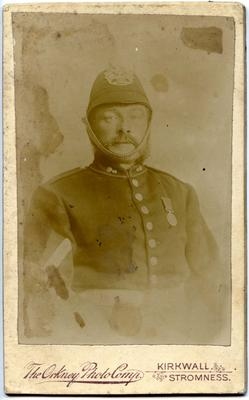 Unidentified man in [police] uniform