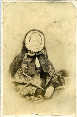 Unidentified elderly woman