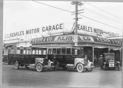 Searle's Motor Garage, North Otago