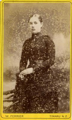 Unidentified young woman