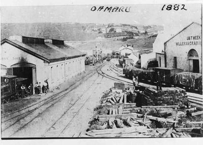The North Express at Oamaru