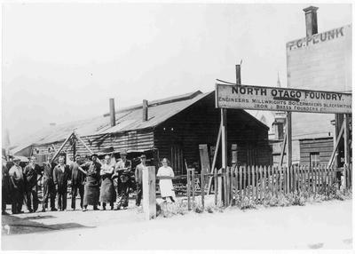 North Otago Foundry, near Coquet St Corner