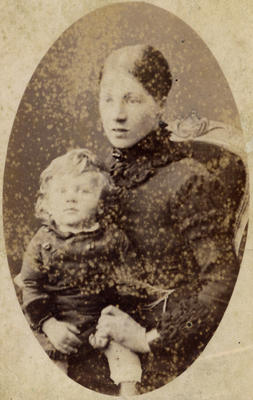 Mrs Lindsay and child