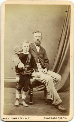 Unidentified man and boy