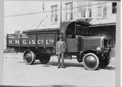 Kurow Motor Garage & Service Coy Ltd. Truck