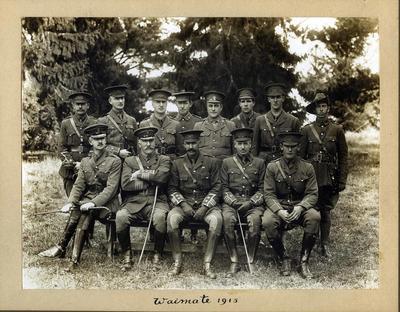 Group of Military Gentlemen