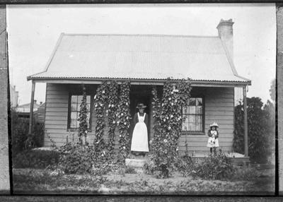 Unidentified Family Home. c.1900