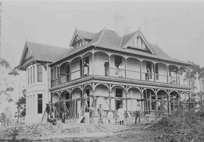 William Hugh Paterson's residence, Arthur Street. Glenside