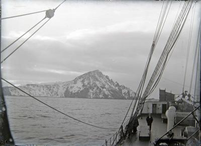 View from ship. Unidentified
