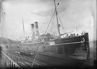Steamship unidentified