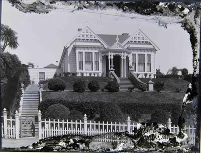 """Naumai"" Private house, upper Tees Street"