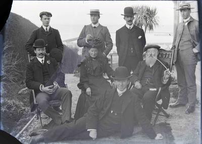 John Marshall Brown and family, Wharfe Street