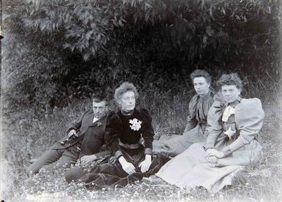 Annie Martin and friends