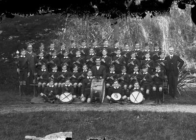 Fife and Drum band circa 1919
