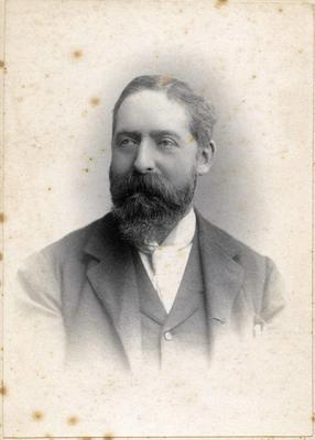 Man's portrait, unidentified.