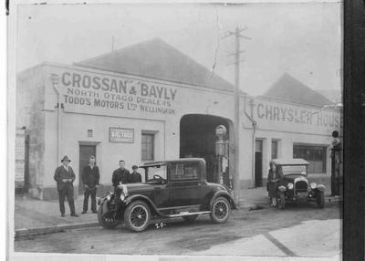 Motor Garage, Crossan & Bayly, North Otago