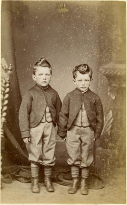 Two small boys
