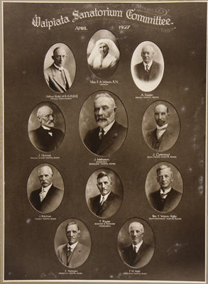 Waipiata Sanatorium Committee; Clifford's Studios (estab. 1901, closed Circa 1949?); 2017/002.201