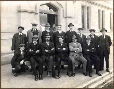 Robert McDonald Watson and Others at Drill Hall