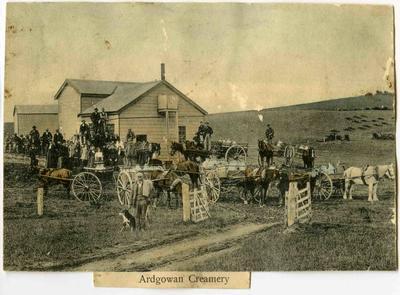Ardgowan Creamery; Mahan, Robert (b.1862, d.1928); P0019.730